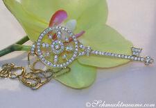Halsketten und Anhänger aus Gelbgold mit SI Reinheit für Damen