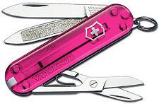 Victorinox Schweizer Taschenmesser Classic Pink Transparent AH 0.6203.T5 NEU