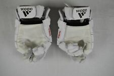 adidas Gloves Men's White Climacool Lacrosse Gloves Used 12