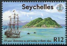Seychelles Ships Stamps 2020 MNH First Landing on Sainte-Anne Settlers 1v Set