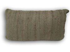 Kissen Dekokissen - Bezug Jute / Baumwolle natur grün - Füllung 80 x 45 cm