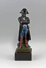 9973024# signé Guillemin sculpture bronze personnage Napoléon en couleur
