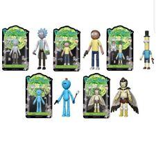 NEW Rick & Morty Funko Action Figures Set 6 and bonus Snowball unopened RARE