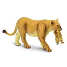 Safari S225229 Löwenmama With Baby Braun Game Figure Made of Plastic #