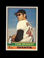 1976 Topps Baseball #644 Tom Bradley (Giants) NM-MT