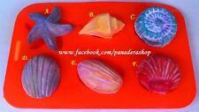 Various Sea Shells Silicon Soap Chocolate Jelly Mold Molder