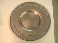 "Rare Vintage Aluminum perforated plate M Means B Best 10"" diameter"