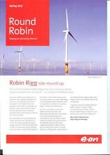 E.on power station Robin Rigg Wind Farm Solway Firth Spirit maintenance vessel