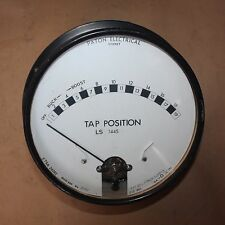 PATON Antique Vintage Steampunk Collectors Gauge Meter TAP POSITION INDICATOR
