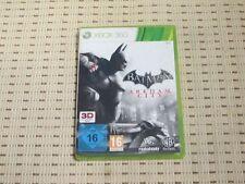 Batman ARKHAM CITY pour xbox 360 xbox360 * OVP *