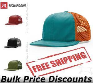 Richardson Mens Rouge Wide Set Mesh Hat Cap 935 six-panel low-profile