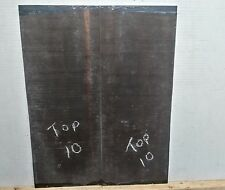 EBONY GUITAR TOPS  #10  LUTHIER TONEWOOD BOOK MATCHED FREE SHIPPING