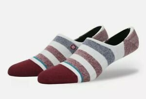 Stance Robinsen 2 No Show Socks Red Combed Cotton Blend Unisex Size Medium NWT