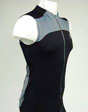 Pearl Izumi Elite Pursuit Sleeveless Cycling Jersey, Black/Smoked Pearl, Small