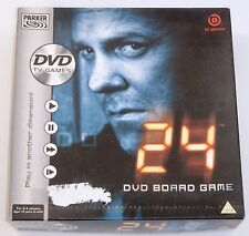 Parker Games 24 DVD Board Game Play In Another Dimension Complete