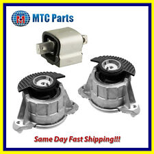 MTC Engine & Trans. Mount 3PCS Set for 08-13 Benz W204 W212 C E Class Hydraulic