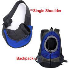 Pet Dog Cat Puppy Carrier Mesh Comfort Travel Tote Sling Backpack Shoulder Bag