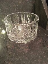 WATERFORD CRYSTAL MILLENNIUM CHAMPAGNE BOTTLE COASTER UNIVERSAL 5 TOASTS