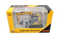 1/64 C-COOL Hydraulic Excavator Car Toy Diecast Gift Collection Alloy Model
