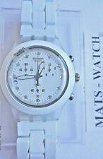 Swatch + irony diaphanechrono + svck 4045ag Full Blooded White + oferta especial + nuevo/new