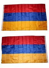 3x5 Armenia Armenian 2 Faced Double Sided 2-ply Polyester Flag