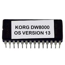 Korg DW-8000 Version 13 firmware latest OS update EPROM - DW8000