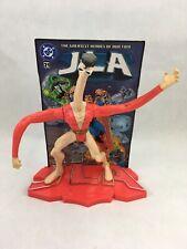 Plastic Man JLA DC Comics  Justice League Kenner 1999  Action Figure Stand Card