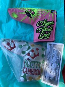 Sugar Skull Golf PGA Championship Kiawah And Scotty Cameron Crowns Headcover