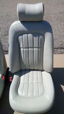 JAGUAR XJ8 X308 FRONT REAR IVORY LEATHER SEATS INTERIOR