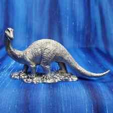 Apatosaurus Brontosaurus Dinosaur Pewter Figurine Us Made