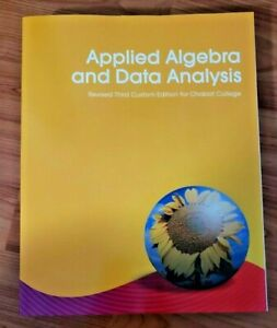 Applied Algebra and Data Analysis