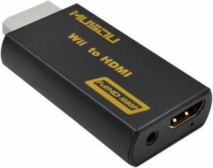 AB1 CONVERTIDOR WII A HDMI ADAPTADOR CONVERSOR FULLHD JACK 3,5MM
