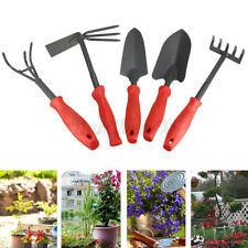 Gardening Hand Tool Hammered Carbon Steel Cultivator Fork Trowel Kit Garden Tool