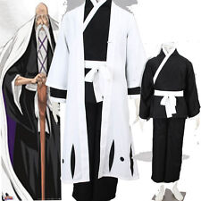 Death Yamamoto Genryuusai Shigekuni Bleach Cosplay Costume Any Size Full Suit