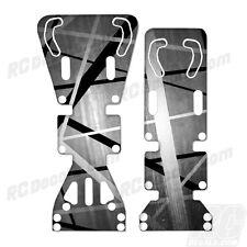 T-Maxx / E-Maxx INTEGY Skid Plate Protectors Death Metal White - Traxxas