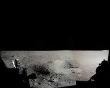 Nasa Apollo 11 Mond Oberfläche Panorama Blick 8x10 Silber Halogen Fotodruck