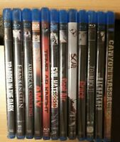 Bluray Horror Gore Collection Factory Sealed 3D Rare 12 Movies reg B