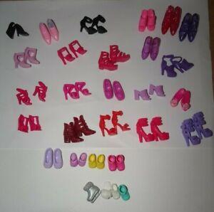 Barbie Doll Shoes & Boots Bundle/ Chelsea Doll Barbie Fashionistas