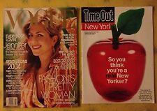 Vogue  magazine 2004 Super Models Beauty Health ! Celebrities ! Fashion Ads