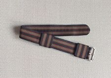Vintage Bond Nylon US Military Watch Strap // Brushed Steel Buckle 20mm