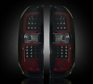 Recon 264288BK LED Tail Lights with Smoked Lens Fits 14-15 Toyota Tundra