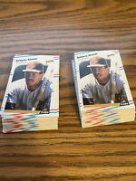 (60) Roberto Alomar 1988 Fleer Update Rookie Card San Diego Padres #U122