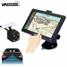 """Car Backup Camera Rear View Parking System Night Vision +7"""" TFT LCD Monitor GPS"""