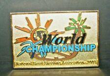 Vintage 2008 Nssa National Skeet Trap Shooting World Championships Award Pin