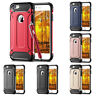 Shockproof Rugged Heavy Duty Bumper Slim Armor Back Case Cover For Apple iPhones