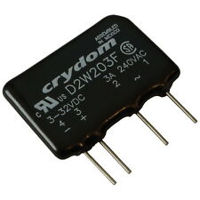 Crydom D2W203F Relais 24V-280V AC 3A Elektronisches Print-Lastrelais SIP4 855440