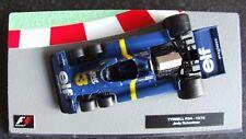 PANINI F1 AUTO COLLECTION 1976 TYRRELL P34 sei ruote JODY SCHECKTER-ABBONATO