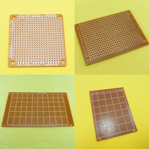 Bakelite Single Sided PCB Prototype Board Printed Circuit Matrix Plate