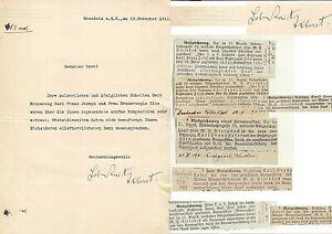 1911 KAISER KARL I.+ZITA  EMPFANGEN KOMPOSITION-m.U. PRINZ LOBKOWITZ
