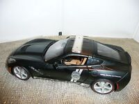 Maisto, Chevy Corvette Stingray, 2014 Matte Black Police Car,#11520 1:18 Diecast